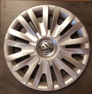One Original Vw Volkswagen Golf 6 Vi Hub Caps 15 Inch 5k0071455