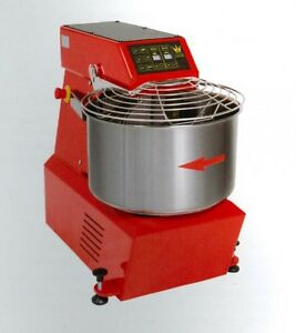 Spiral Dough Mixer 40 Lt 42 Qt 38 Kg 84 Lbs With Timer Made In Italy