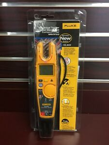 Fluke T6 600 Clamp Continuity Current Electrical Non contact Voltage Tester