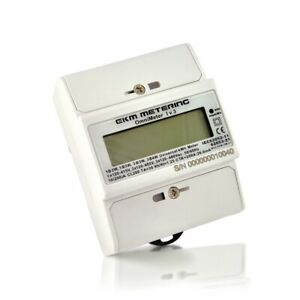 Electric Kwh Meter 120 120 240 Up To 480 Volts Single Or 3 phase 24