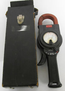 Weston Electric Model 633 Meter 0 1000 Amp With Case