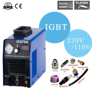 60a Igbt Air Plasma Cutter ag60 Torch Digital Plasma Cutting Machine 16mm Cut