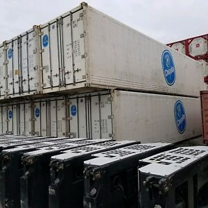 Shipping Containers Cold Storage Refrigerated 40f 320 Square Feet Used 2011