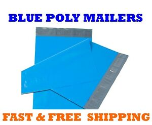 9x12 Blue Poly Mailers Shipping Envelopes Self Sealing Mailing Bags 9 X 12