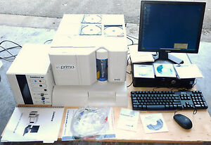Luminex Prima Sd Lx100 200 Luminometer Microplate Reader With Software