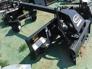 Quick Attach Skid Steer Blade Attachment