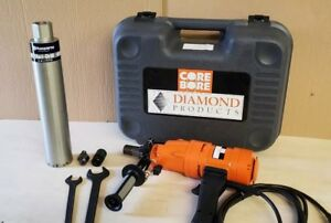 Weka Corebore Dk12made In Germany 3 Spd Core Drill 3 husqvarna Bit Hilti