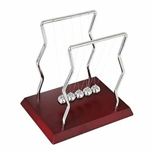 Bojin Newton s Cradle Balance Ball Wave Steel Science Physics Puzzle Desk Fun