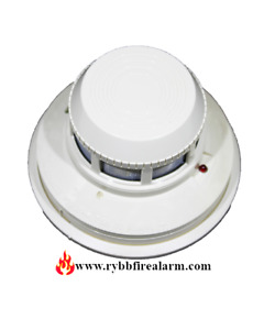 New System Sensor 2424 4 wire Smoke Detector Free Ship The Same Business Day