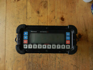 Ashtech Gps Receiver Xii M xii Made In Usa Battery Pack And Antenna Included