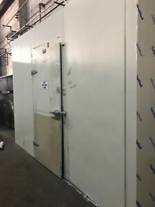 6 w X 12 d X 9 h Walk in Cooler 9 10 Condition