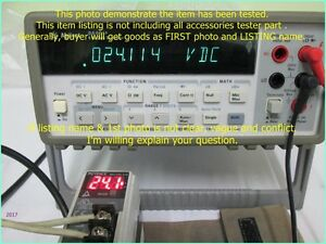 Agilent 34401a Meter As Photo Tested Without All Accessories Sn 8193xx D m