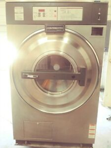Used Continetal 50lb Coin Laundry Commercial Washer Extractor 3 phase Clean