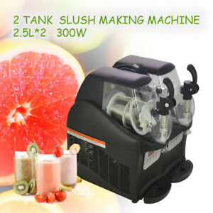 2 5l 2 300w Mini Margarita Slush Frozen Drink Machine