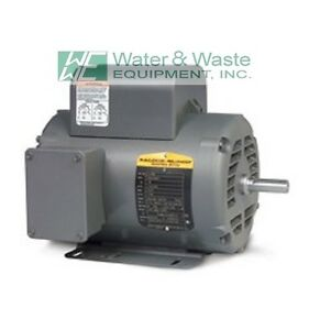L1509t 7 5 Hp 3450 Rpm New Baldor Electric Motor Air Compressor Damage Free