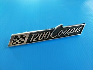 New Genuine Mazda Familia 1200 Coupe Emblem Badge Front Grille nos
