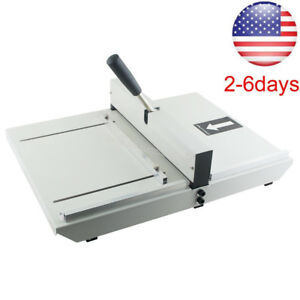 Newest Manual Paper Creasing Machine Creaser Scorer A4 Card Covers Photos Usa