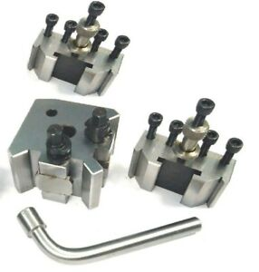 Quick Change Tool Post Set T 37 With 2 Standard Holders