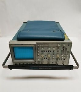 Tektronix 2246 Counter 100mhz 4 Channel Portable Oscilloscope Tested