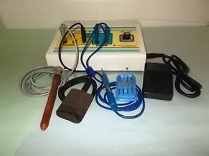 Brand New Electrocautery Surgical Unit With Spark Gap Skin Cautery Machine Sas3