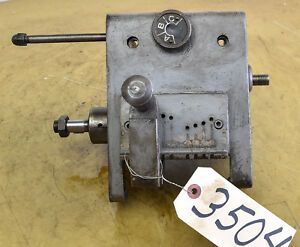 Quick change Gear Box From Clausing 12 Lathe ctam 3504