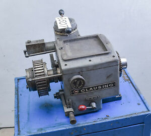 Lathe Headstock Variable Speed From 5900 Series 12 Clausing ctam 3507