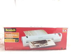 Scotch Advanced Thermal Laminator 13in Input 3 And 5 Millimeter Pouch Setting