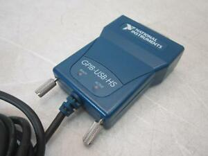 National Instruments Gpib usb hs Interface Adapter Controller Ieee 488