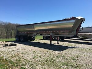 2005 Mac Frameless Aluminum End Dump Trailer 35 X 60 Gc