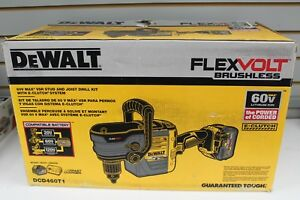 Dewalt Stud And Joist Drill Kit With E clutch System W 60v Battery Dcd460t1