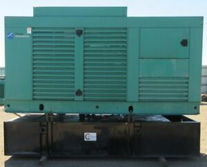 250 Kw Cummins Onan Diesel Generator Genset Load Bank Tested Mfg 2001