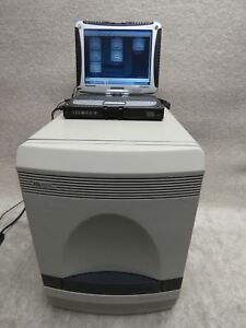 Abi Applied Biosystems 7500 Fast Real time Pcr System With Control Laptop