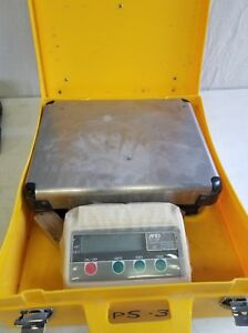 A d Engineering Fg 30k Bench Scale With Case Low Profile 30kg 60lbs Digital