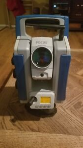 Fully Robotic Reflectorless Total Station 2 4ghz Spectra Precision Focus 30 2