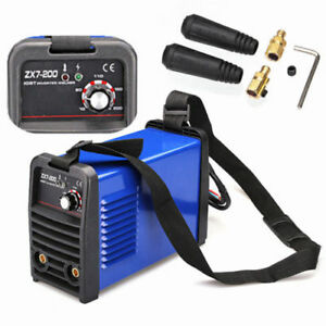Zx7 200 Welding Machine Dc Inverter Mma Welder 220v