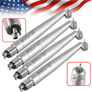 4 Us Nsk Style Surgical 45 Degree Dental High Speed Handpiece 4holes Push Spray