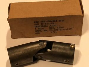 Universal Joint Assembly Only A M37t6b Engine Test Stand Pn 37 14 1 9 New Nos