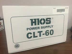 Hios Clt 60 Electric Screwdriver Power Supply Asg Jergens 65520