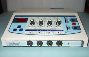 Microcomputer Controlled Digital Machine Electrotherapy Ultrasound Therapy