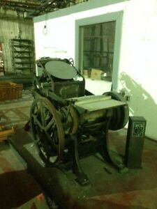 Antique Printing punch Press