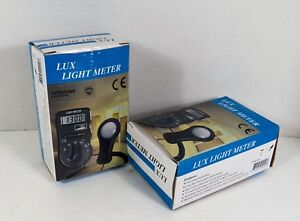 Velleman Lux Light Meters Dvm1300 Lot Of 2 W Cases Directions
