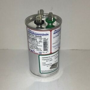 Oem Amrad Run Capacitor 55 5 Uf Mfd 370 440 Volt Usa2240 Made In Usa