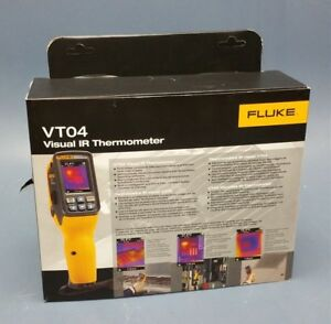 New Fluke Vt04 Visual Ir Thermometer 4366444 Flk vt 04