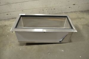 Regency 18 X 36 Stainless Steel Drop in Ice Bin