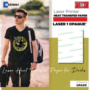 Laser 1 Opaque For Dark T shirt Neenah Heat Transfer Paper 8 5 X 11 100 Sheet