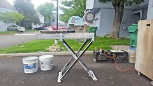 Target Wet Tile Saw Tilematic G2 W Tray Stand Extras Masonary Pavers Husqvarna