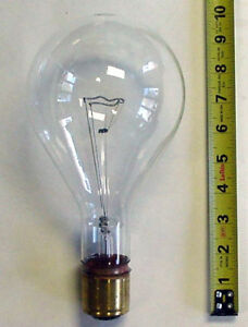 Bulb Obstruction Red Light Tower Beacon 620 Watts Ge 620ps40p 120v