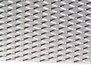 12 X 47 Universal Silver Aluminum Diamond Mesh For Your Custom Grill Grille