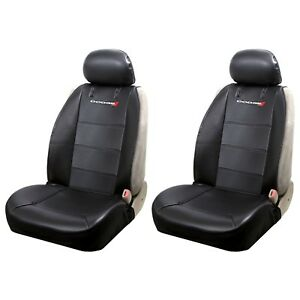 Brand New Dodge Elite Style Car Truck Synthetic Leather Front 2pc Seat Covers