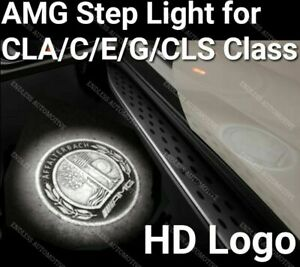 mercedes benz Amg Step Puddle Door Light Affalterbach Cla E S C Cls Glc Slk Gl